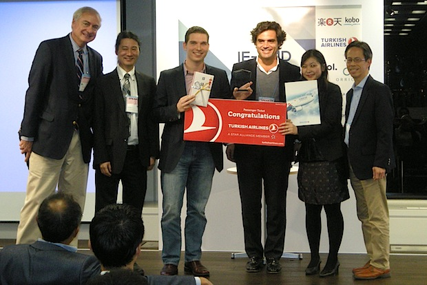 MoneyTree wins the top award in the pitching session.