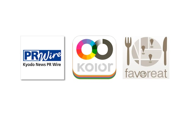 kolor-kyodonewsprwire-favoreat_logos
