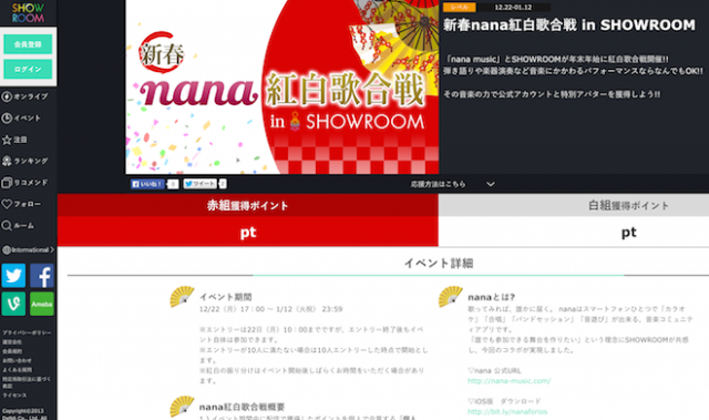 nana in showroom