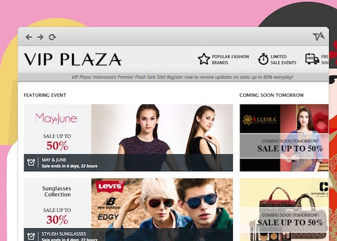 Fashion-flash-sales-site-VIP-Plaza-launches-today-in-Indonesia-with-Cyberagent-Ventures-funding