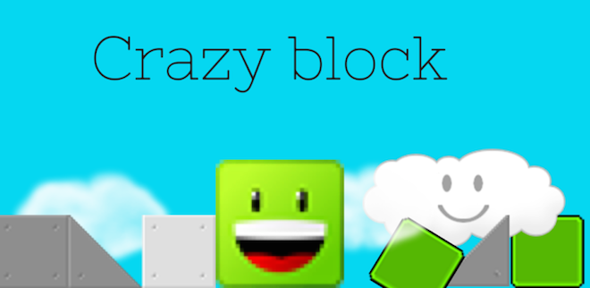 Above: Crazy Block from 14-year-old developer Lucia Sanchez. Image Credit: Unicorn Games