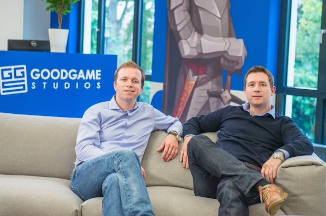 Above: Brothers Christian (left) and Kai Wawrzinek of Goodgame Studios Image Credit: Goodgame