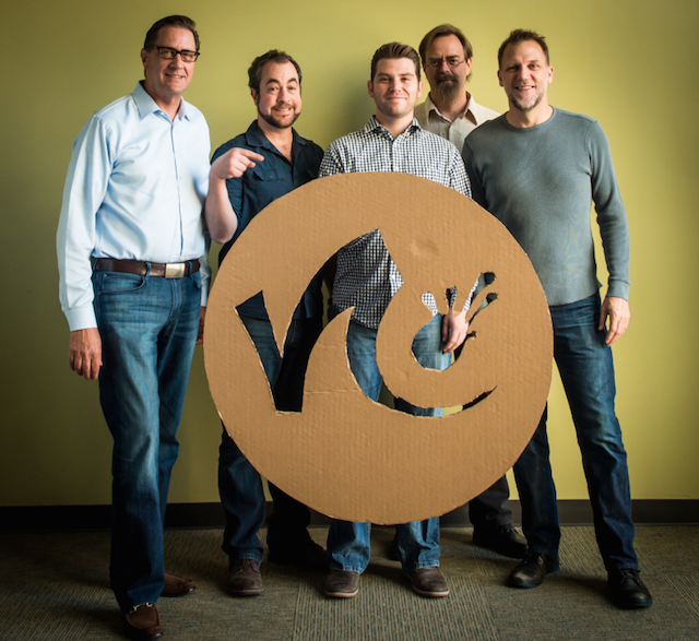 Above: Founders of the Nimble Collective. Michael Howse is on the far left. Image Credit: Nimble Collective