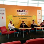 Panel on bootstrapping versus venture funding at Startup Capitals conference in Singapore