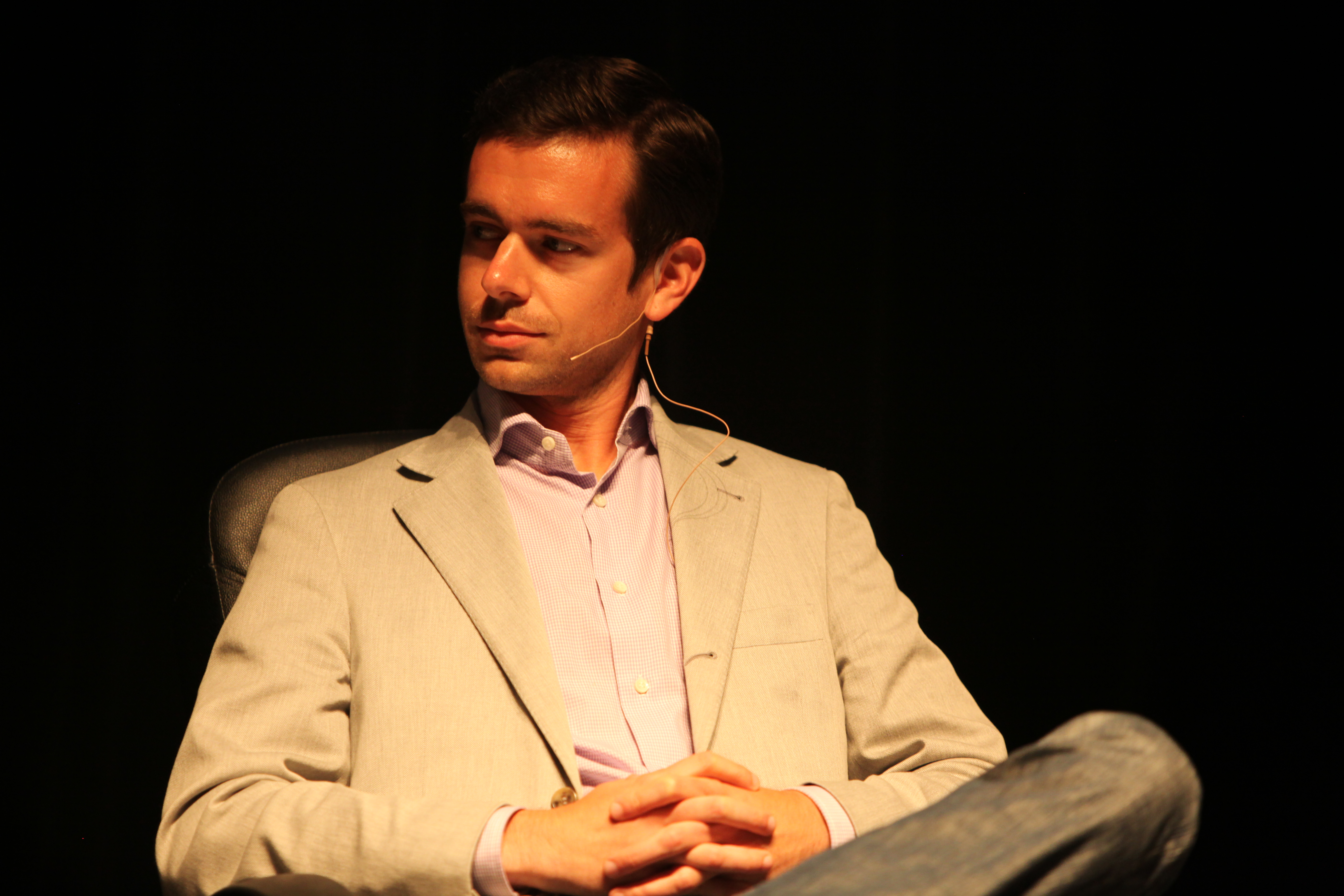 Square CEO Jack Dorsey (Photo by Wikipedia)
