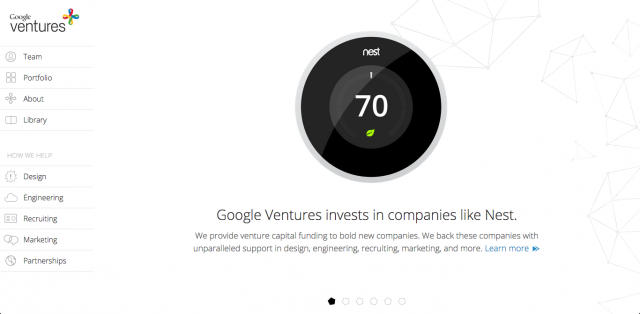 Google-Ventures-website