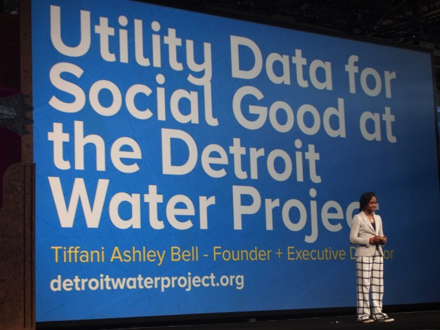 Detroit Water Projectの共同ファウンダー Tiffani Ashley Bellさん