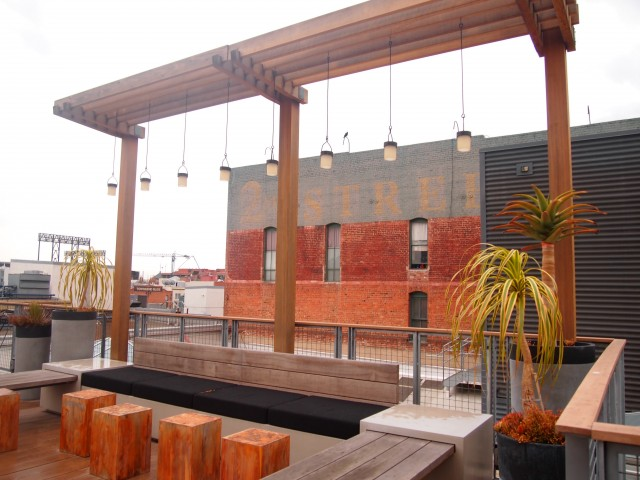 GitHub-office-roof-top-sitting-area