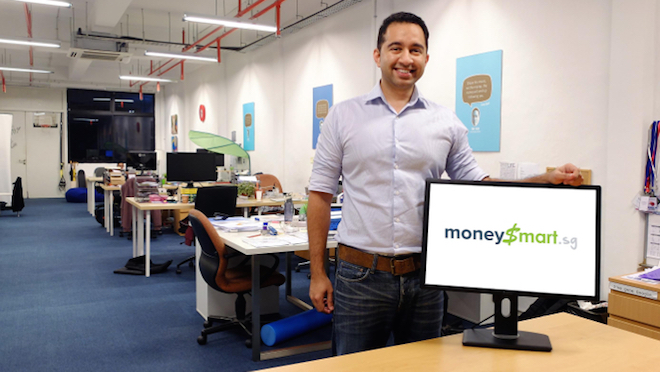 Vinod Nair, Founder and CEO of MoneySmart.sg