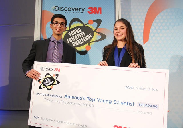 image via Discovery Education 3M Young Scientist Challenge