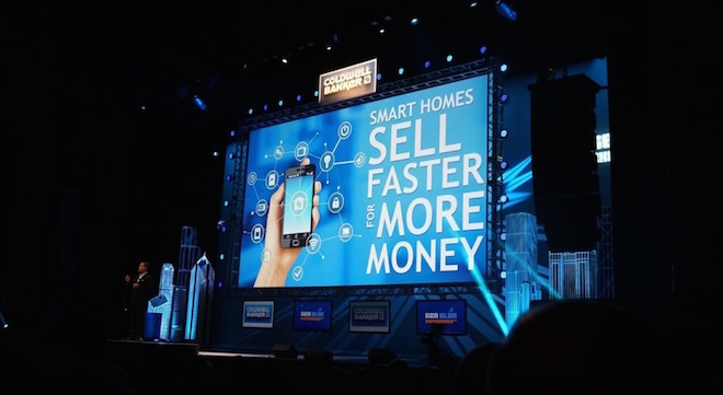 Above: Coldwell Banker says smart homes sell faster for more money. Image Credit: Coldwell Banker