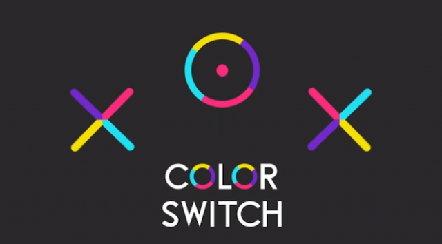 上: Color Switch Image Credit: Fortafy Games
