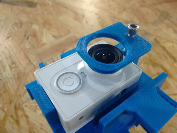Lewei Huang's custom panoramic camera