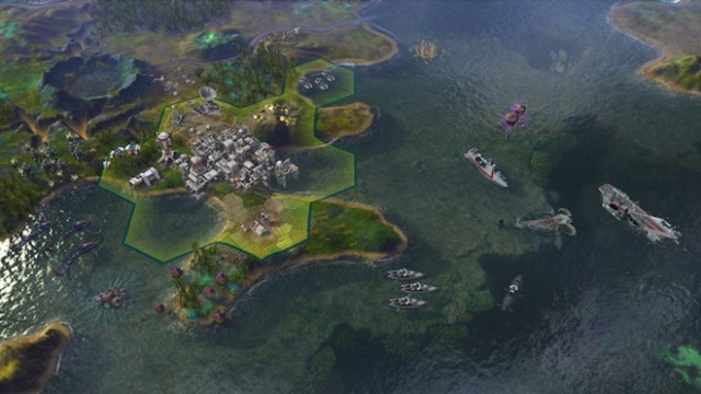 Above: Civilization: Beyond Earth is pretty … until those things eat you. Image Credit: Firaxis Games