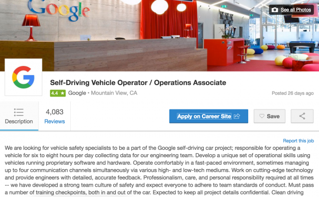 Google-Self-Driving-Vehicle-Operator