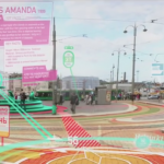 "Above: A still-shot from the 2014 Dezeen YouTube video ""The Future of Augmented Reality""."