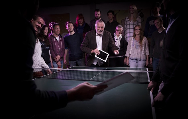 Above: Nolan Bushnell, the father of video games, teams up with Spil Games to make mobile games. Image Credit: Spil Games