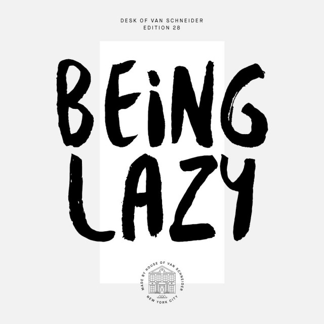 Being-Lazy
