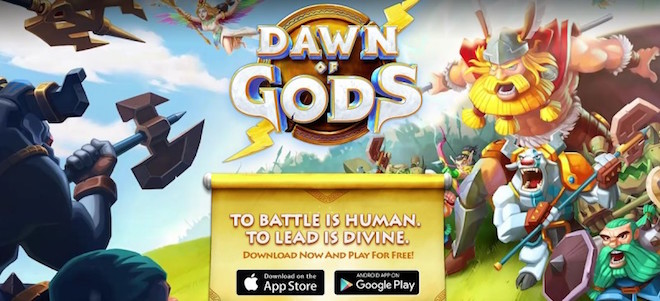 上:Dawn of the Gods Image Credit: Aeria Games