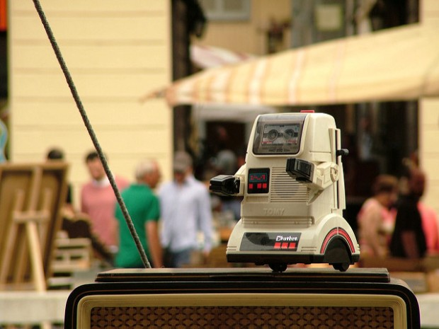Tomy Chatbot via Flickr by Michele M. F.