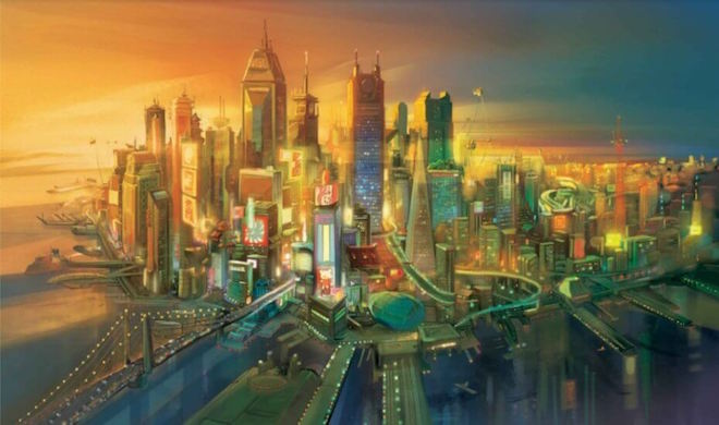 "Image Credit: ""San Fransokyo"" from ""Big Hero 6"""