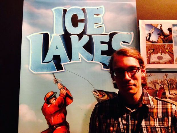Lasse Liljedahl, CEO and co-founder of Iceflake Studios
