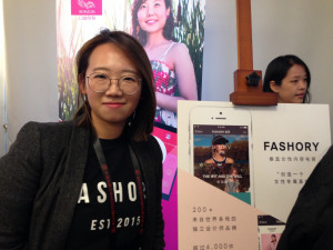 CEO of Fashory, Emmy Teo