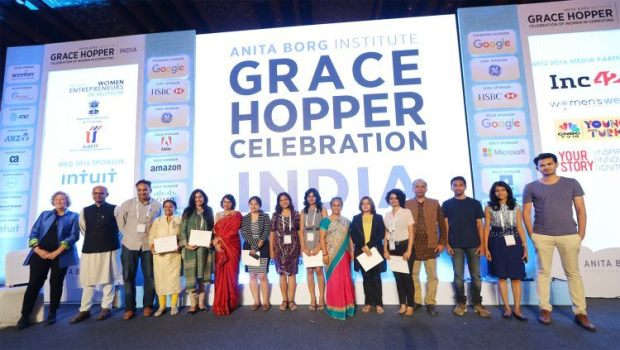 The Grace Hopper Celebration of Women in Computing's 2016 Women Entrepreneur Quest winners.