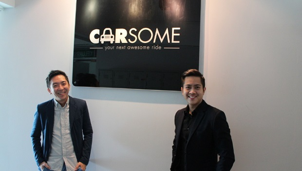 Malaysian-entrepreneurs-Eric-Cheng-left-and-Teoh-Jiun-Ee-right-founders-of-Carsome